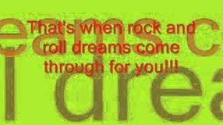 jim steinman - rock and roll dreams come through - w/ lyrics