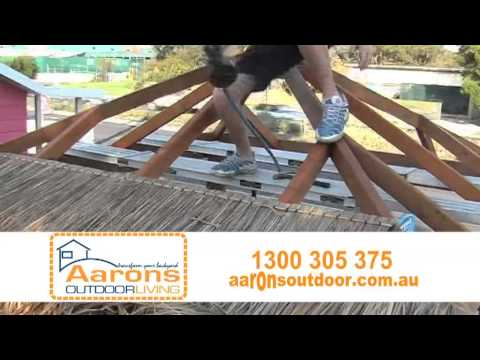 How to build a Bali Hut