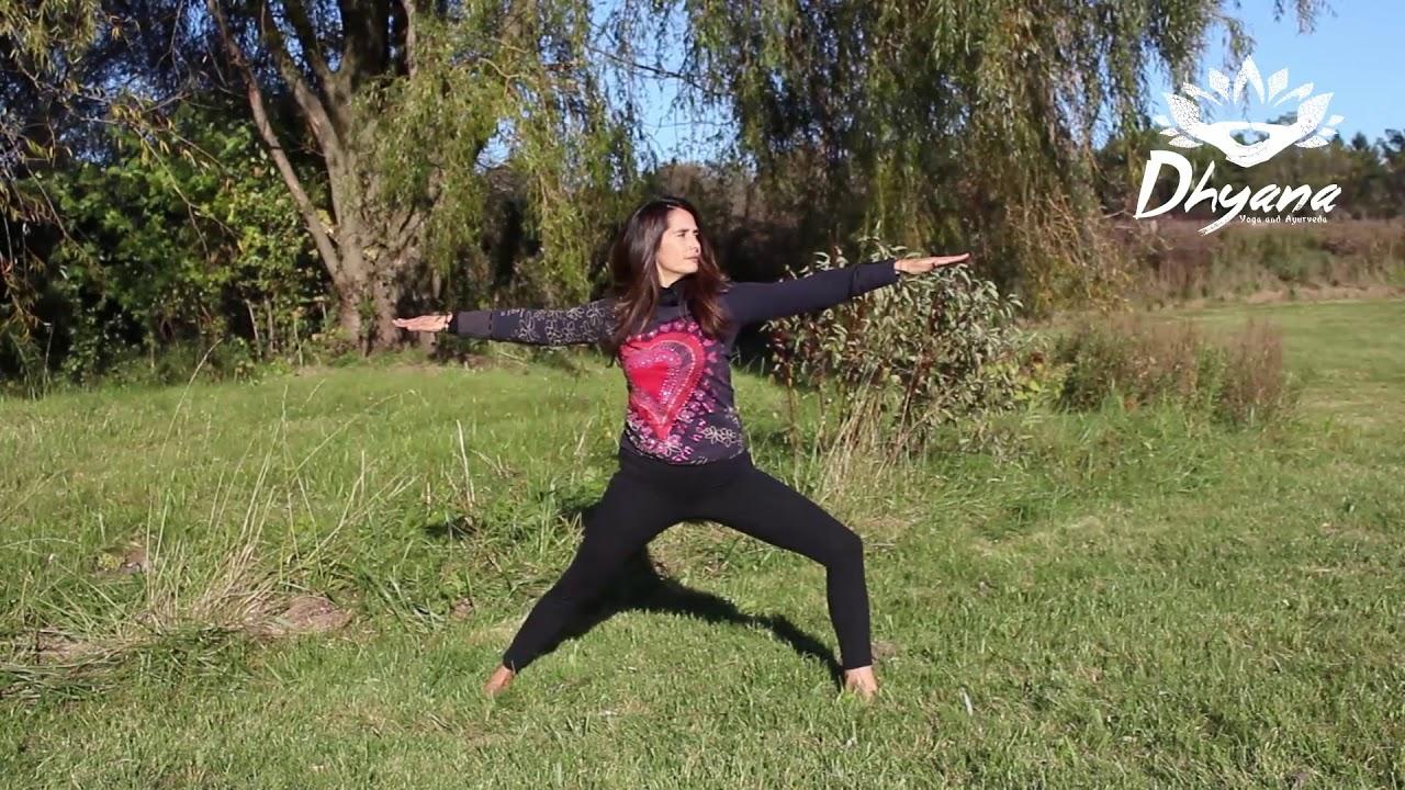 Secuencia Prana-Asana. Balance Vata - Dhyana Yoga and Ayurveda