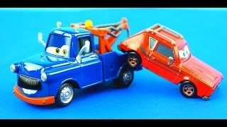 Disney Pixar Cars Ivan Mater saves Sally from the Professor & his evil Lemons!
