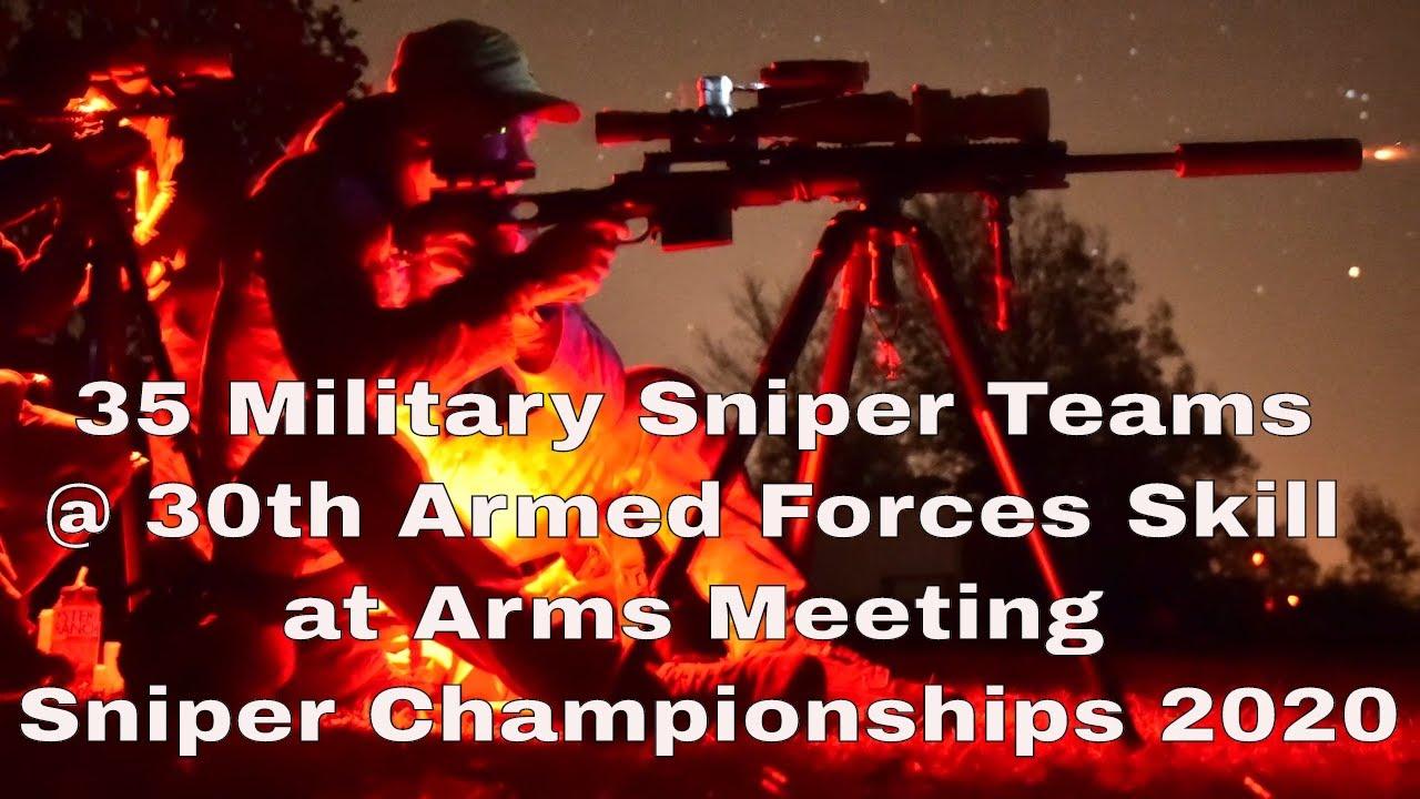 35 Military Sniper Teams • Sniper Championships • USA 2020
