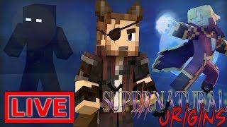 Minecraft Supernatural Origins #12.5 (Live Modded Survival)