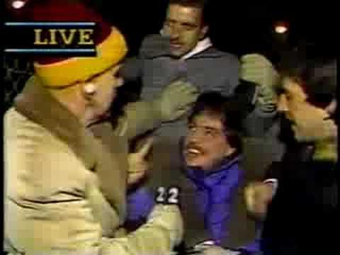 Chicago Bears 1987 Playoff Loss JOHN DRUMMOND WBBMTV