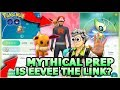 MYTHICAL PREP WITH EEVEE IN POKEMON GO | FUTURE MYTHICAL PRO TIPS