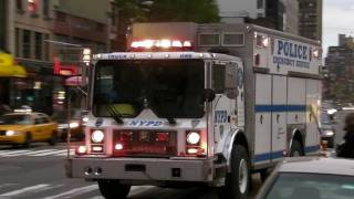 NYPD Emergency Service Unit Truck One 1 ESU ESS