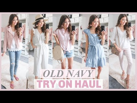 HUGE OLD NAVY TRY ON HAUL 2019 | AFFORDABLE SPRING CLOTHING HAUL