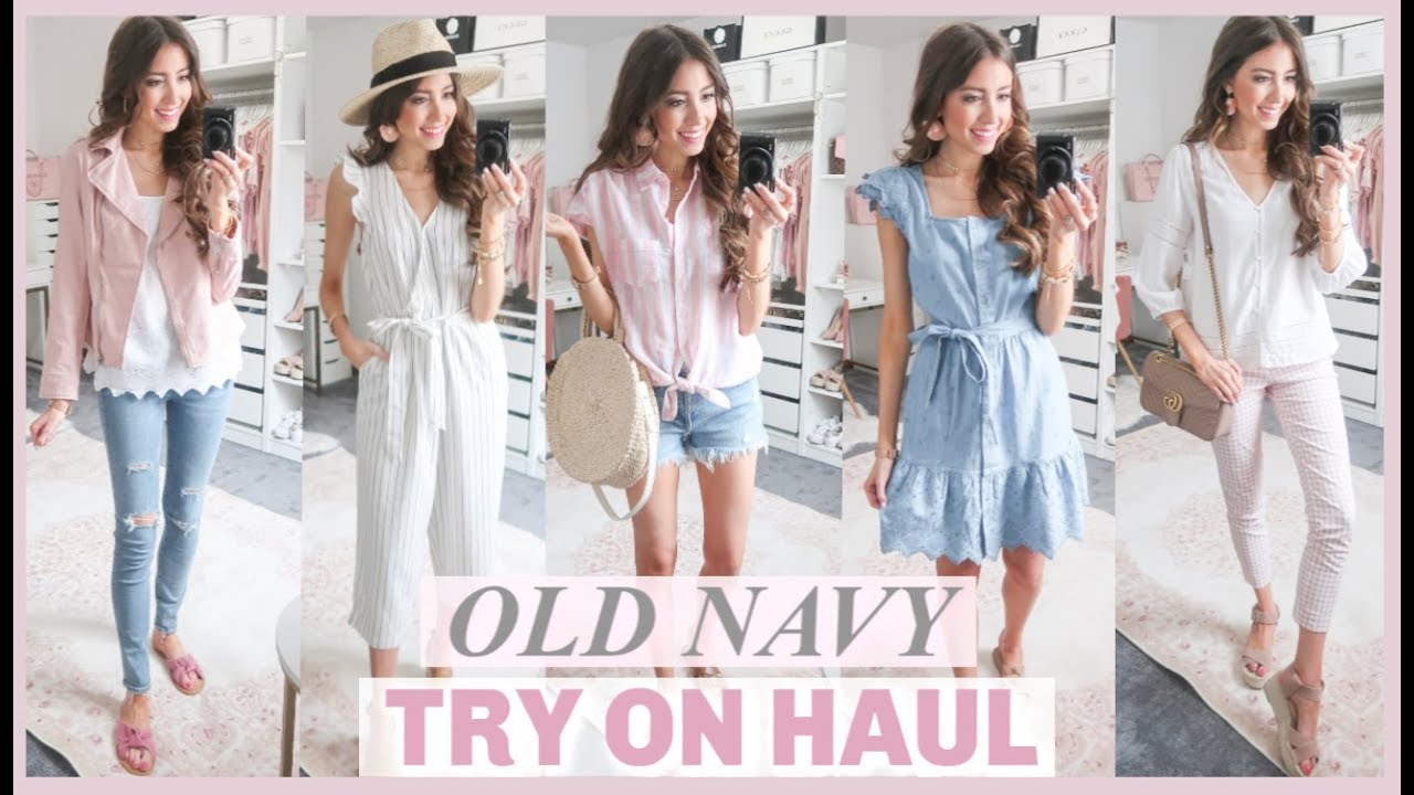 6ad8fea4c HUGE OLD NAVY TRY ON HAUL 2019   AFFORDABLE SPRING CLOTHING HAUL ...