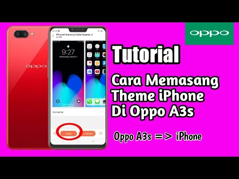 Theme iPhone For Oppo A3s