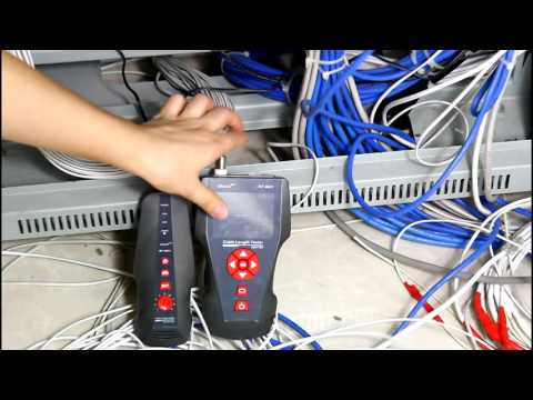 English video: NOYAFA cable length tester & Ping /POE tester