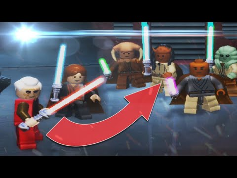 PALPATINE'S ARREST! | Lego Star Wars: The Complete Saga (MOD) |