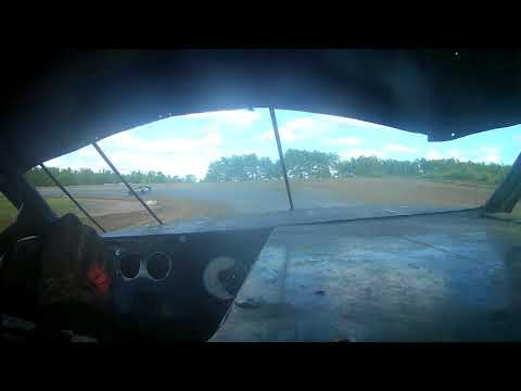 In car at bemidji speedway
