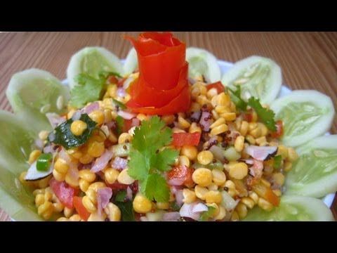 Chickpea Salad Recipe by Sonia Goyal to Regulate Cholesterol