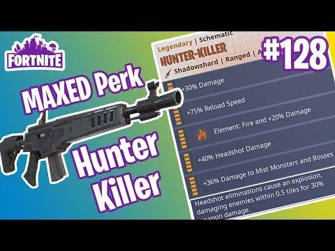 MAXED Perk Hunter Killer   TRASH 6th perk   Fortnite #128