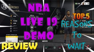 *NEW* DON'T BUY NBA LIVE 19 BEFORE YOU WATCH THIS REVIEW VIDEO
