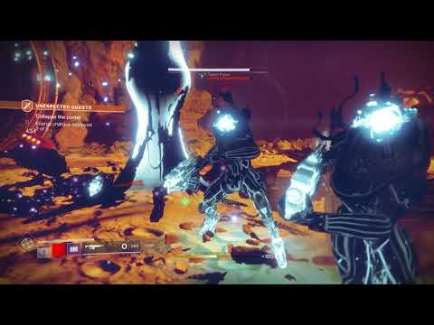 Destiny 2 - Unexpected Guests: Collapse The Portal 3/3, Destroy Energy Charge, Iraz, Eye of Savathun