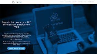 PagueCripto - Pagamentos com Bitcoins e Criptomoedas / Transferência  para Conta Bancária