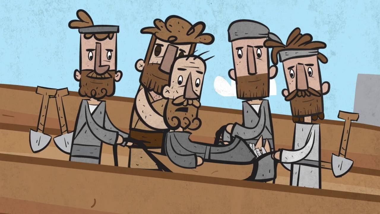 Jesus Heals A Paralyzed Man Luke 5 17 26 Youtube
