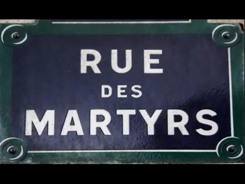 Rue des martyrs paris arrondissements 9e 18e youtube for Miroir rue des martyrs