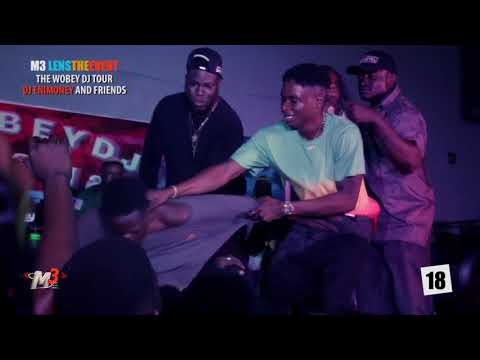 OLAMIDE, LYTA and LIL KESH mind blowing performance at Dj Enimoney's wobey tour in Unilag