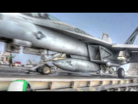 Flight Deck Operations – Aircraft Carrier USS Eisenhower