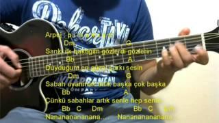 Gitar Dersi - Herşey Senle (Furkan Kızılay)