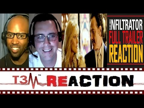 The Infiltrator Official Trailer REACTION