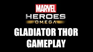 Marvel Heroes Omega (PC) - Gladiator Thor Gameplay