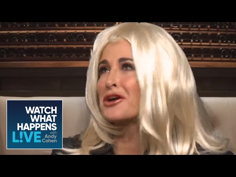Kyle Richards And Camille Grammer Reenact An Old Argument | RHOBH | WWHL
