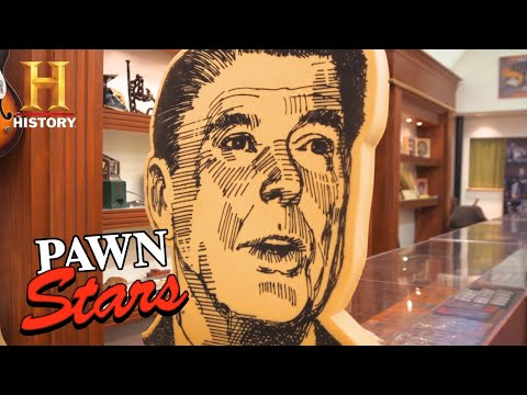 Pawn Stars: TOP 9 PRESIDENTIAL PAWNS (Books, Suits, Cigars, and More!) | History