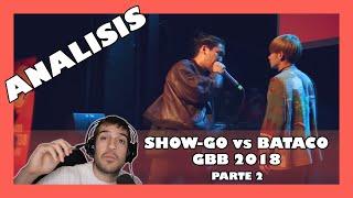 Analisis Show-Go vs Bataco GBB 2018   Orodreth