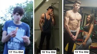 My Body Transformation | Anorexic to Muscular (25KG+ 17-19 Years Old)