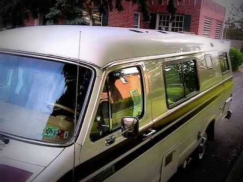 Camper Van For Sale >> 1986 Dodge Ram 228 Explorer Camper Motor Home RV - YouTube