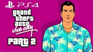 Grand Theft Auto Vice City PS4 Gameplay Walkthrough Part 2 - CHAINSAW (GTA Vice City PS4)