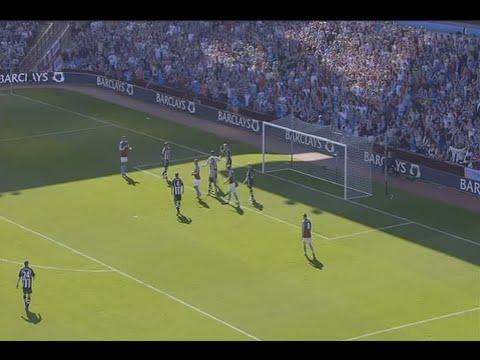 Aston Villa 1-0 Newcastle (2008-09)