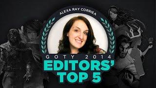 Alexa Ray Corriea - GameSpot Editors' Top 5 Games of 2014