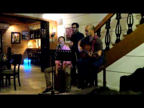 JEFFREY TAM sings ALL MY LIFE w/ alvin anson