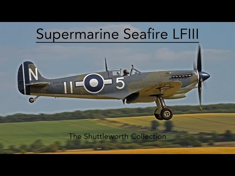 Supermarine Seafire LF III - The Shuttleworth Collection