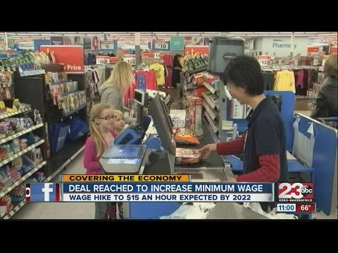 Residents react to California minimum wage agreement