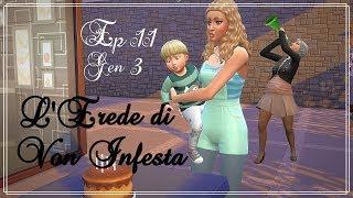 The Sims 4: L'Erede di Von Infesta Ep 11 - Compleanno dai Landgraab [Generazione 3]