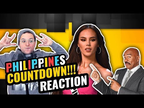 Miss Universe 2018 - Catriona Gray | Full Coronation Night | Philippines Countdown | REACTION
