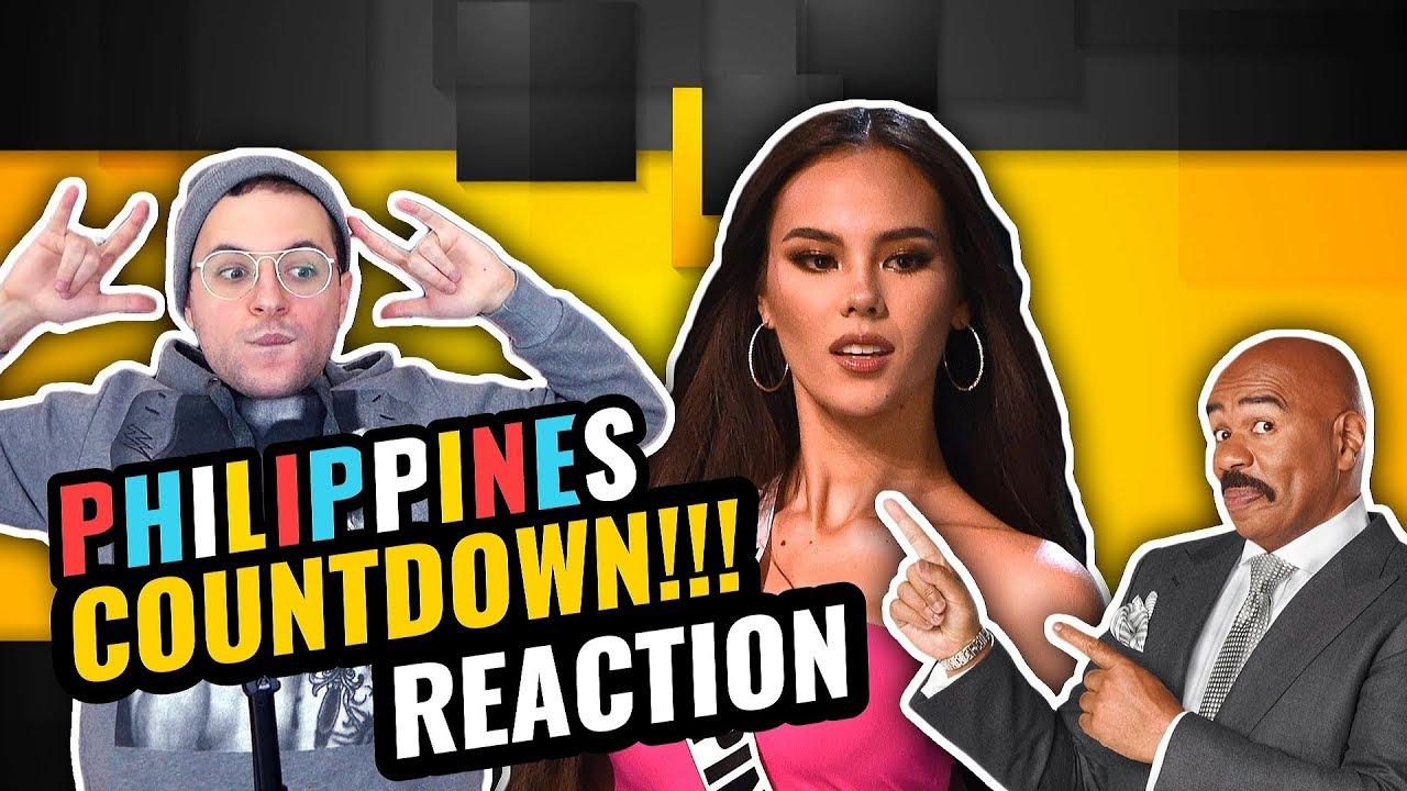 Miss Universe 2018 Catriona Gray Full Coronation Night Philippines Countdown Reaction