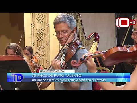 70 años a puro talento de la Orquesta Sinfónica Municipal