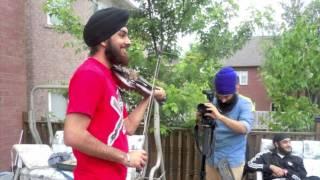 "Mirza (Panjabi MC) Violin and Piano Cover- Raaginder ""Violinder"" and Raashi"