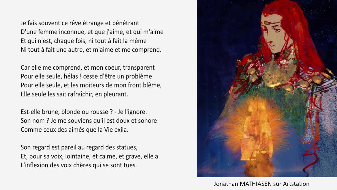 Paul Verlaine Mon Rêve Familier Poèmes Saturniens 1866