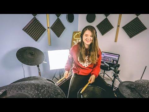 Happier - Marshmello ft. Bastille - Drum Cover x Beat Saber | TheKays