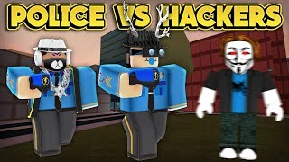 POLICE VS HACKERS! (ROBLOX Jailbreak)