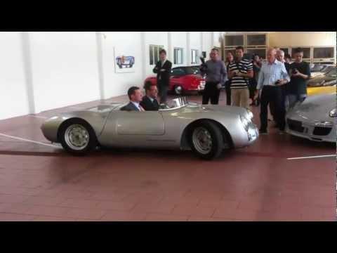 Porsche 550 Spyder / Museum Secrets.MOV