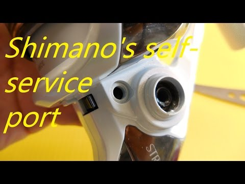 Shimano's Not-so-Secret Service Port