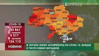 Коронавірус в Украі ні статистика за 17 жовтня