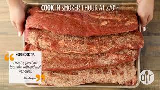 How to Make Sweet Smoked Pork Ribs | Dinner Recipes | Allrecipes.com